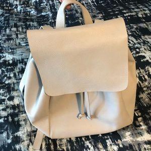 Zara Backpack, light cement gray